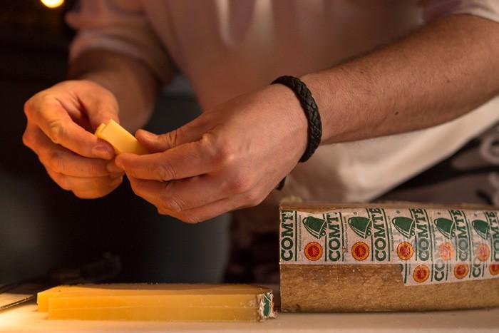 Comté cheese selection