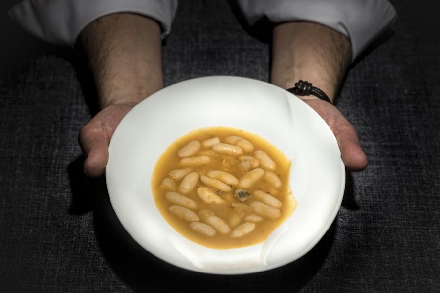 Fabes asturianas estofadas