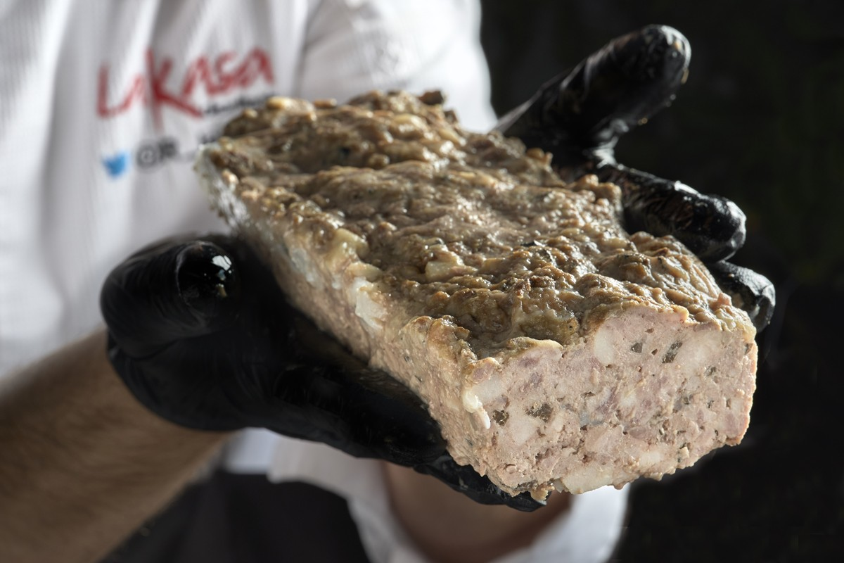 Terrine of veal, iberian pork